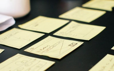 UX Strategy and UI Design Sketches